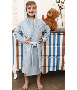 Халат детский Teddy голубой Vien