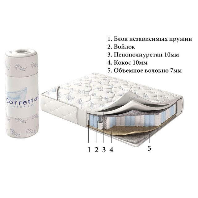 Corretto Матрас Roll Lovely