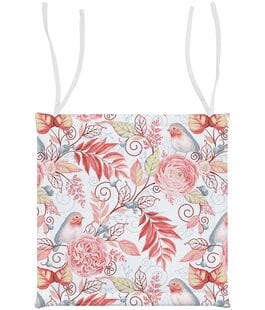 Подушка для стула Птички розовые Verossa