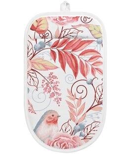 Прихватка-варежка Птички розовые Verossa