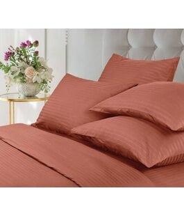 Комплект постельного белья Страйп Terracotta Verossa