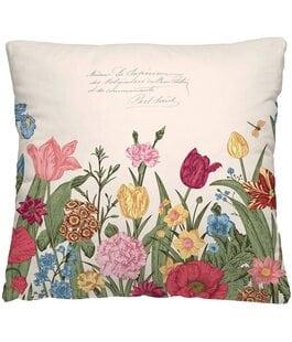 Подушка-думка Цветочная клумба Волшебная Ночь