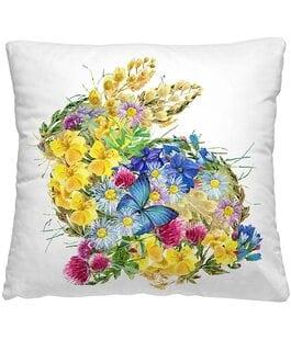 Подушка-думка Цветочный заяц Волшебная Ночь