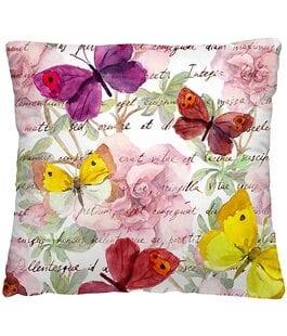Подушка-думка Пестрые бабочки Волшебная Ночь
