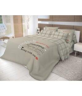 Комплект постельного белья Ранфорс Happiness Волшебная Ночь