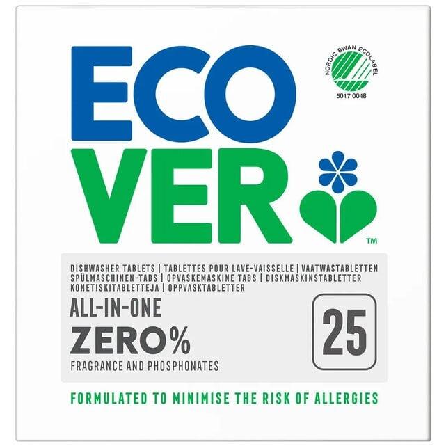 Ecover Универсальные таблетки для посудомоечной машины все-в-одном 500 г Zero