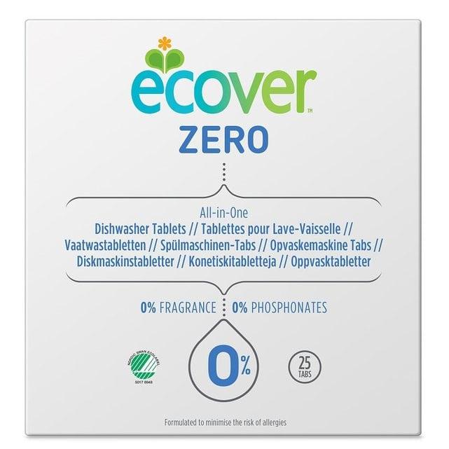 Ecover Zero Универсальные таблетки для посудомоечной машины все-в-одном 500 г