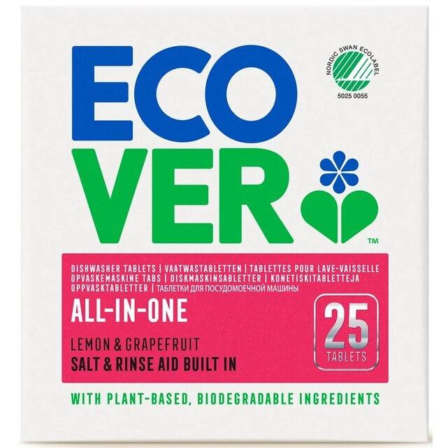 Ecover Classic Экологические таблетки для посудомоечной машины 3 в 1