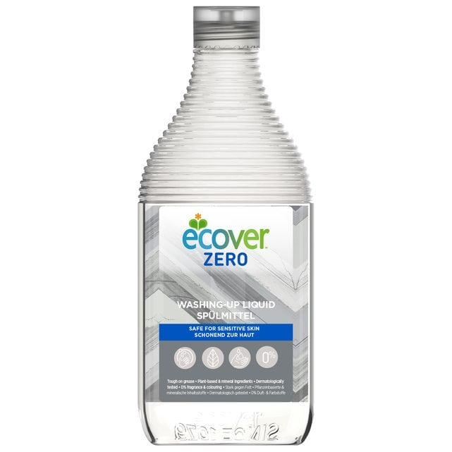 Ecover Zero Экологическая жидкость для мытья посуды 450 мл