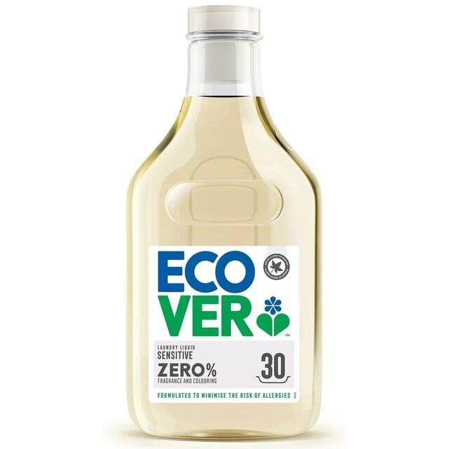 Ecover Концентрированная жидкость для стирки 1500 мл Sensitive Zero