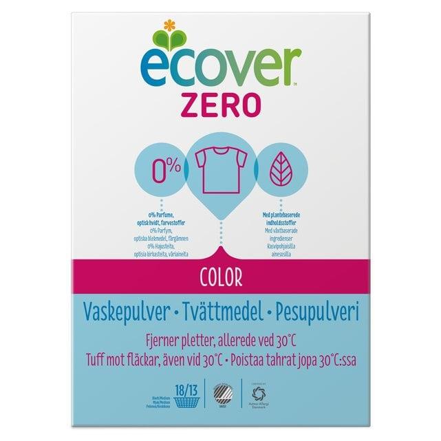 Ecover Zero Color Стиральный порошок-ультраконцентрат для цветного белья 750 г