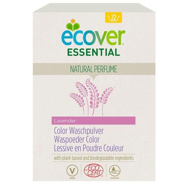 Ecover Стиральный порошок для цветного белья 1200 г Essential ECOCERT