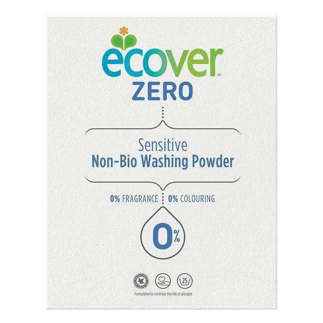 Ecover Экологическийстиральный порошок-ультраконцентрат универсальный 1875 г Zero SensitiveNon Bio
