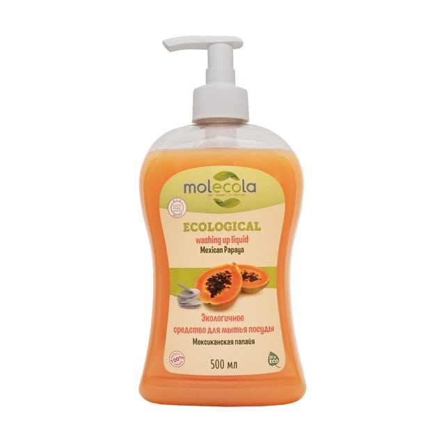 Molecola Экологичное средство для мытья посуды Мексиканская папайя 500 мл