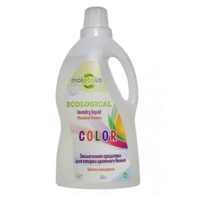 Molecola Экологичное средство для стирки цветного белья Цветы мандарина