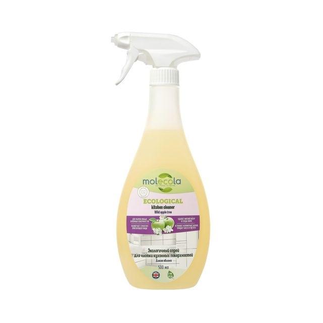 Molecola Экологичный спрей для чистки кухонных поверхностей Дикая яблоня