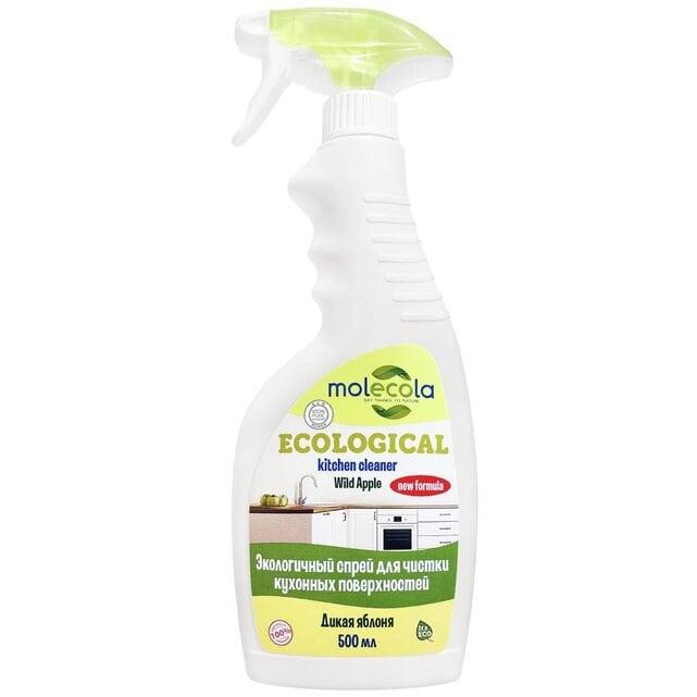 Molecola Экологичный спрей для чистки кухонных поверхностей Дикая яблоня 500 мл