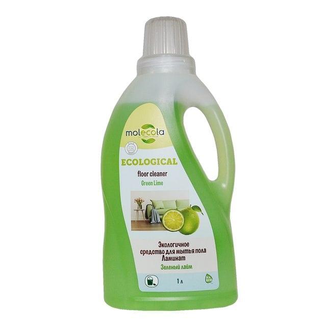 Molecola Экологичное универсальное средство для мытья пола Ламинат Зеленый лайм 1000 мл