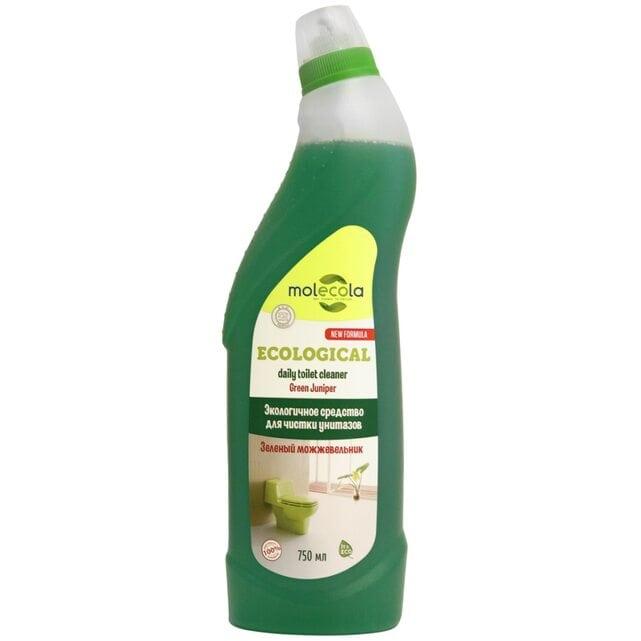 Molecola Экологичное средство для чистки унитазов и сантехники Зеленый можжевельник 750 мл