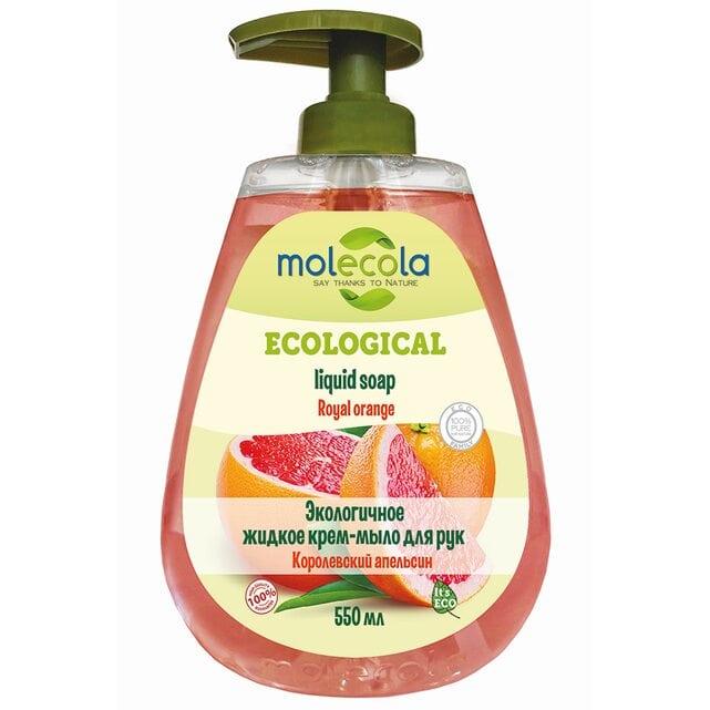 Molecola Экологичное жидкое мыло для рук Королевский апельсин 550 мл