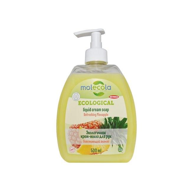 Molecola Экологичное жидкое мыло для рук Освежающий ананас