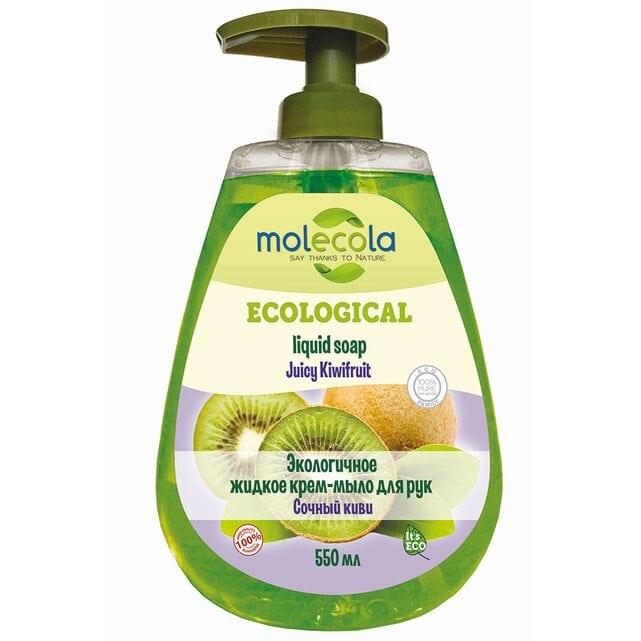 Molecola Экологичное жидкое мыло для рук Сочный киви 550 мл