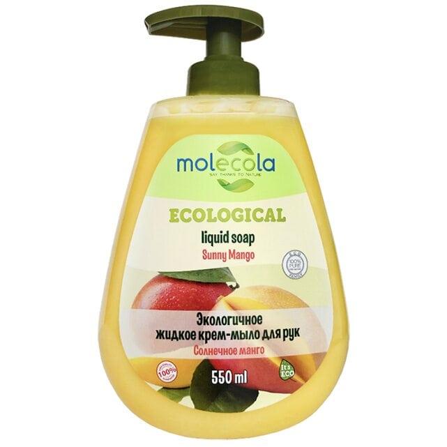 Molecola Экологичное жидкое мыло для рук Солнечное манго 550 мл