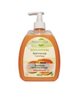 MOLECOLA Жидкое мыло для рук Тропическая папайя