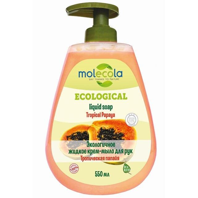 Molecola Экологичное жидкое мыло для рук Тропическая папайя 550 мл