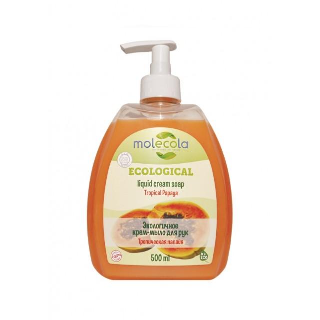 Molecola Экологичное жидкое мыло для рук Тропическая папайя