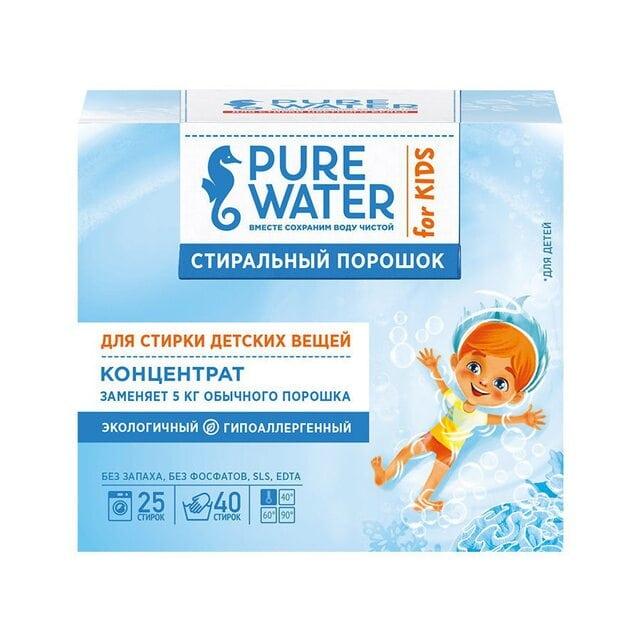 Pure Water Стиральный порошок для детского белья 800 г