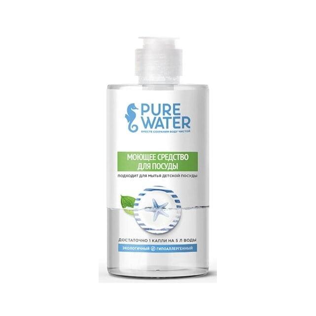 Pure Water Моющее средство для посуды гипоаллергенное