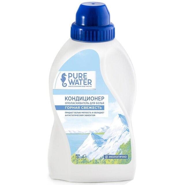 Pure Water Кондиционер-ополаскиватель для белья горная свежесть 480 мл