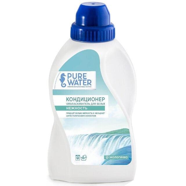 Pure Water Кондиционер-ополаскиватель для белья Нежность Гипоаллергенный 480 мл