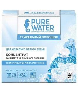 Стиральный порошок для белого белья Pure Water