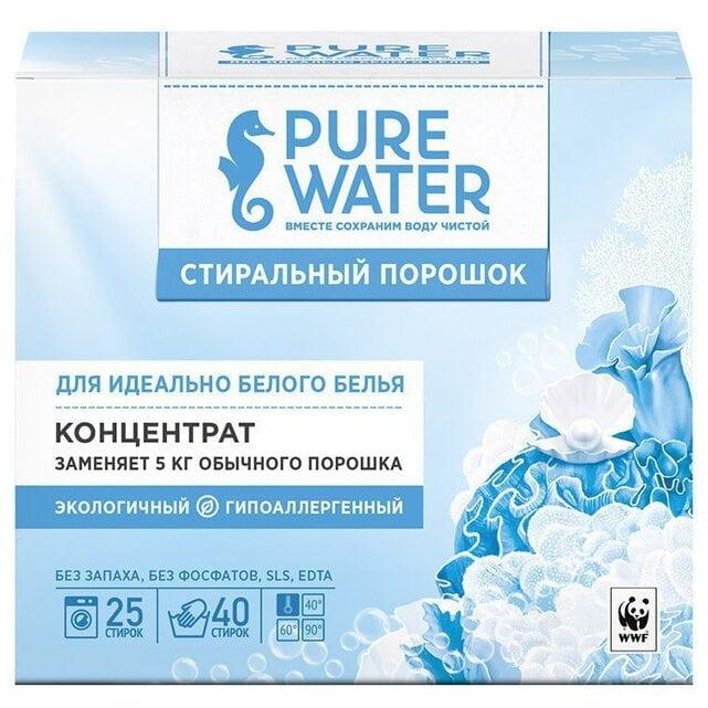 Pure Water Стиральный порошок для белого белья 800 г