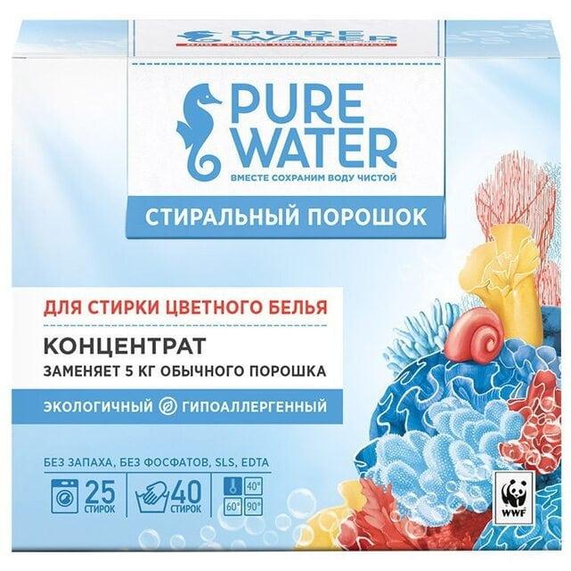 Pure Water Стиральный порошок для цветного белья 800 г