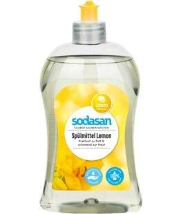 Средство для мытья посуды Лимон Sodasan