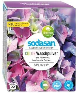 Стиральный порошок-концентрат для стирки изделий из цветных тканей Sodasan