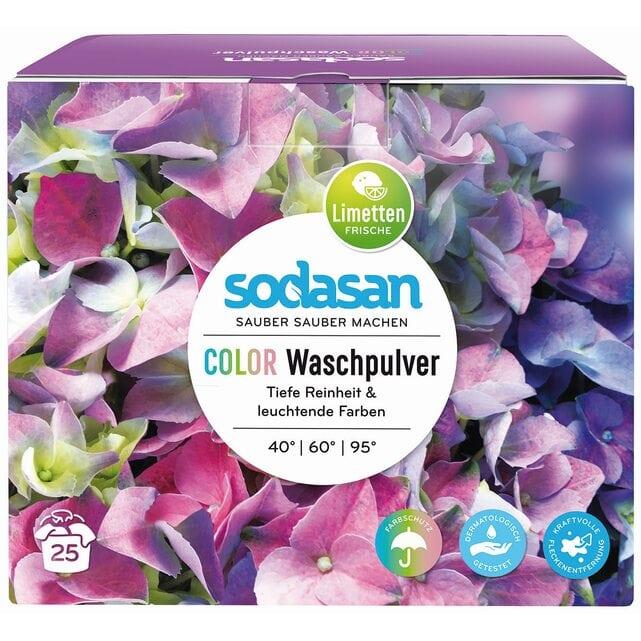 Sodasan Стиральный порошок-концентрат для стирки изделий из цветных тканей