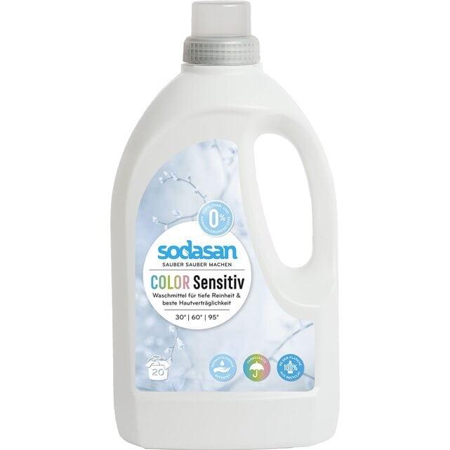 Sodasan Жидкое средство для стирки цветных тканей и для чувствительной кожи