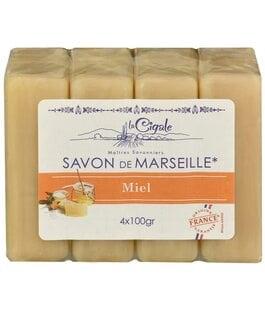 Мыло марсельское Мед Savon de Marseille La Cigale