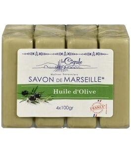 Мыло марсельское Олива Savon de Marseille La Cigale