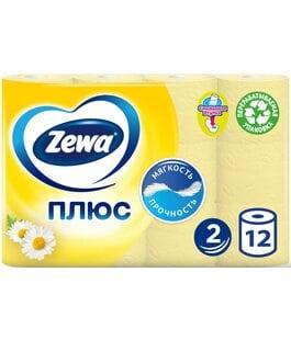 Туалетная бумага 2 слоя 12 шт Ромашка Плюс Zewa