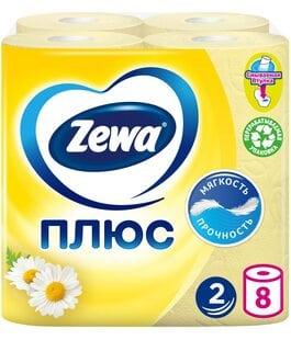 Туалетная бумага 2 слоя 8 шт Ромашка Плюс Zewa
