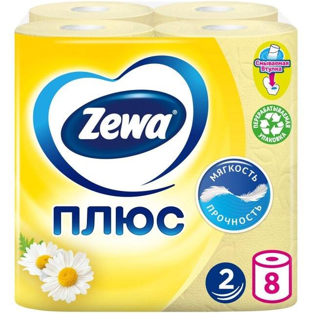 Zewa Плюс Ромашка туалетная бумага 2 слоя 8 штук