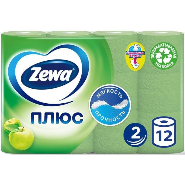 Zewa Плюс Яблоко туалетная бумага 2 слоя 12 штук