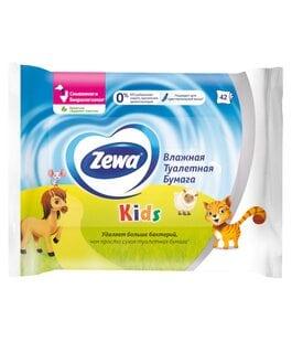Туалетная бумага влажная Kids 42 листа Zewa