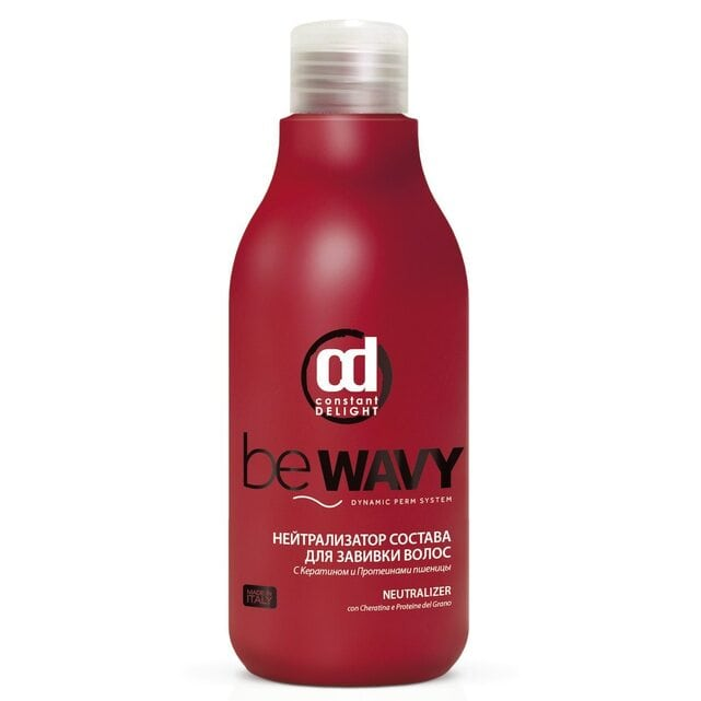 Constant Delight Be Wavy Нейтрализатор состава для завивки волос 500 мл
