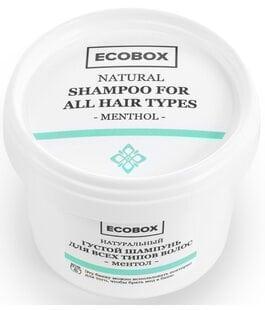 Густой шампунь для всех типов волос Ментол Ecobox